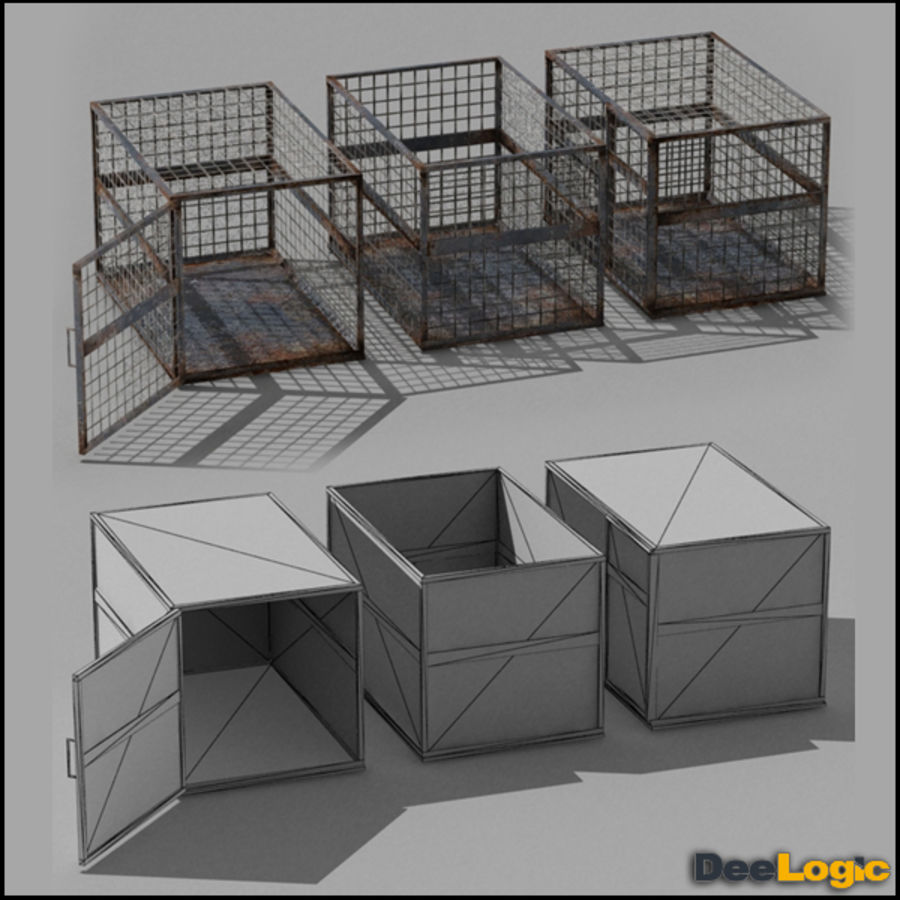Content col.1 royalty-free 3d model - Preview no. 5