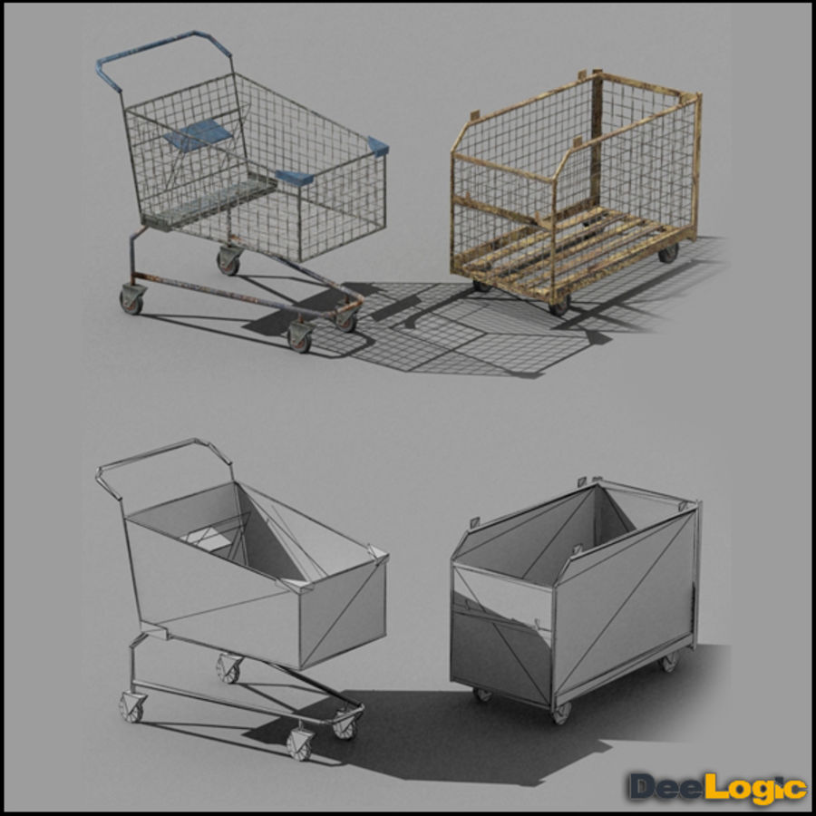Content col.1 royalty-free 3d model - Preview no. 7