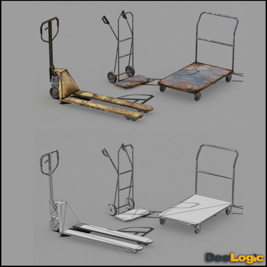 Content col.1 royalty-free 3d model - Preview no. 6