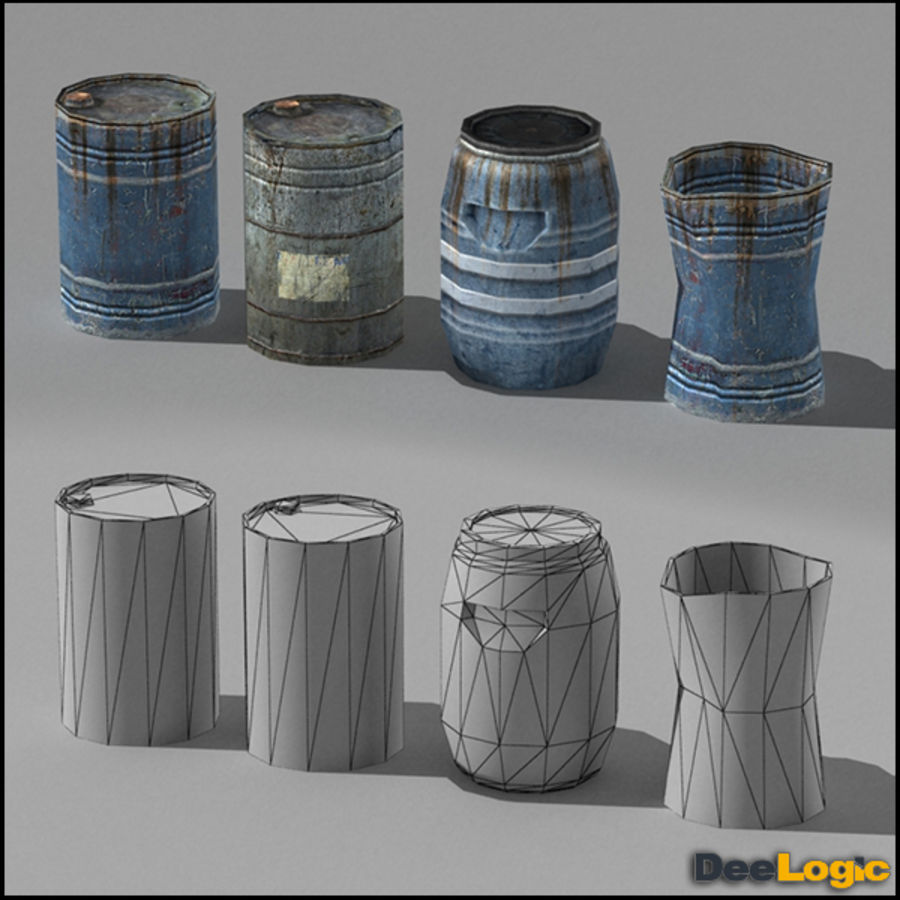 Content col.1 royalty-free 3d model - Preview no. 3