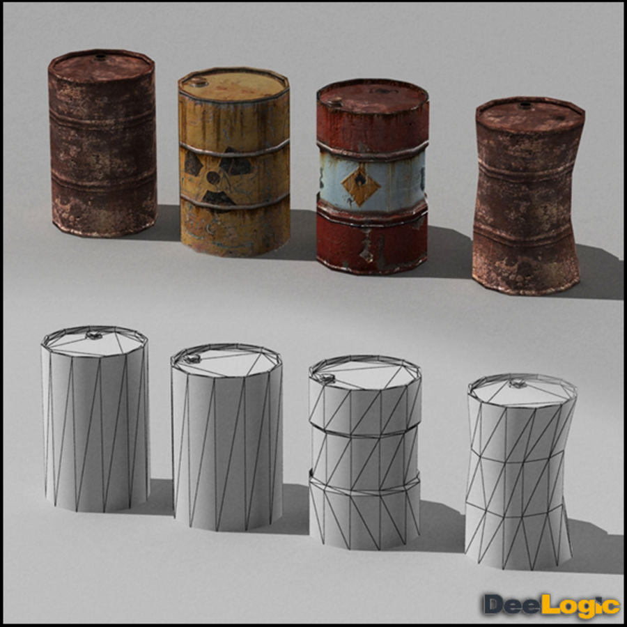 Content col.1 royalty-free 3d model - Preview no. 2