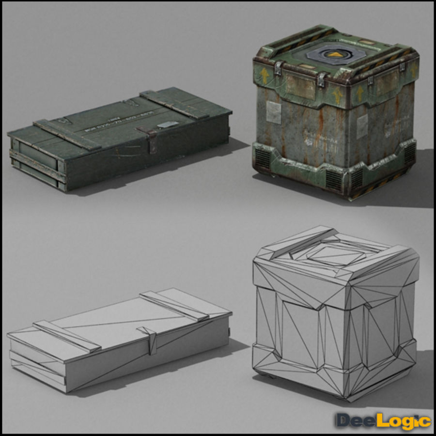 Content col.1 royalty-free 3d model - Preview no. 4