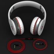 Set cuffie wireless Beats Monster 3d model