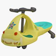Toy Bike 2 3d model