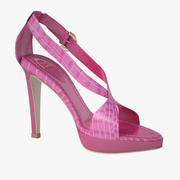 Caovilla - Pink Sandals 3d model