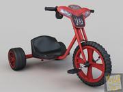 Motorräder Spielzeug 3d model