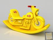Motocicleta Toy2 3d model