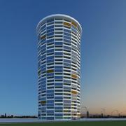 New Skyscraper 11 3d model