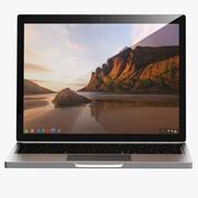 The Pixel ChromeBook Google Os 3d model