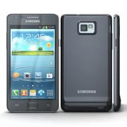 Samsung I9105 Galaxy S II Plus Black 3d model