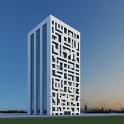Nuovo grattacielo 13 3d model