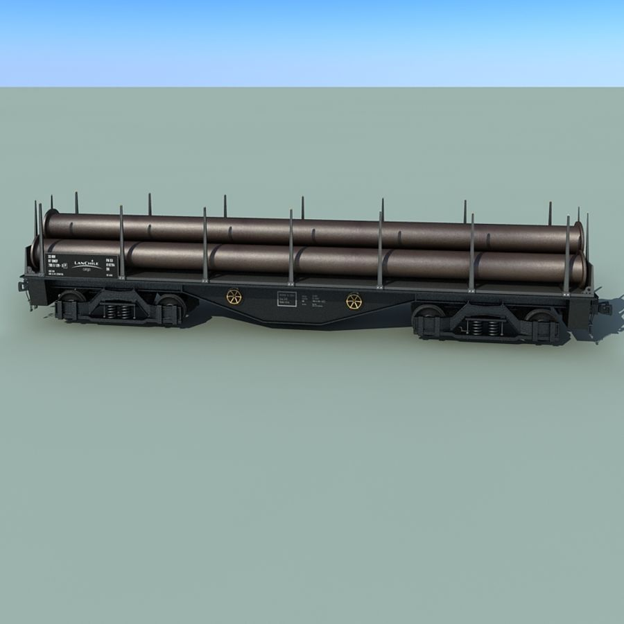 Wagon royalty-free 3d model - Preview no. 21