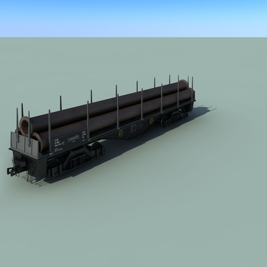 Wagon royalty-free 3d model - Preview no. 15