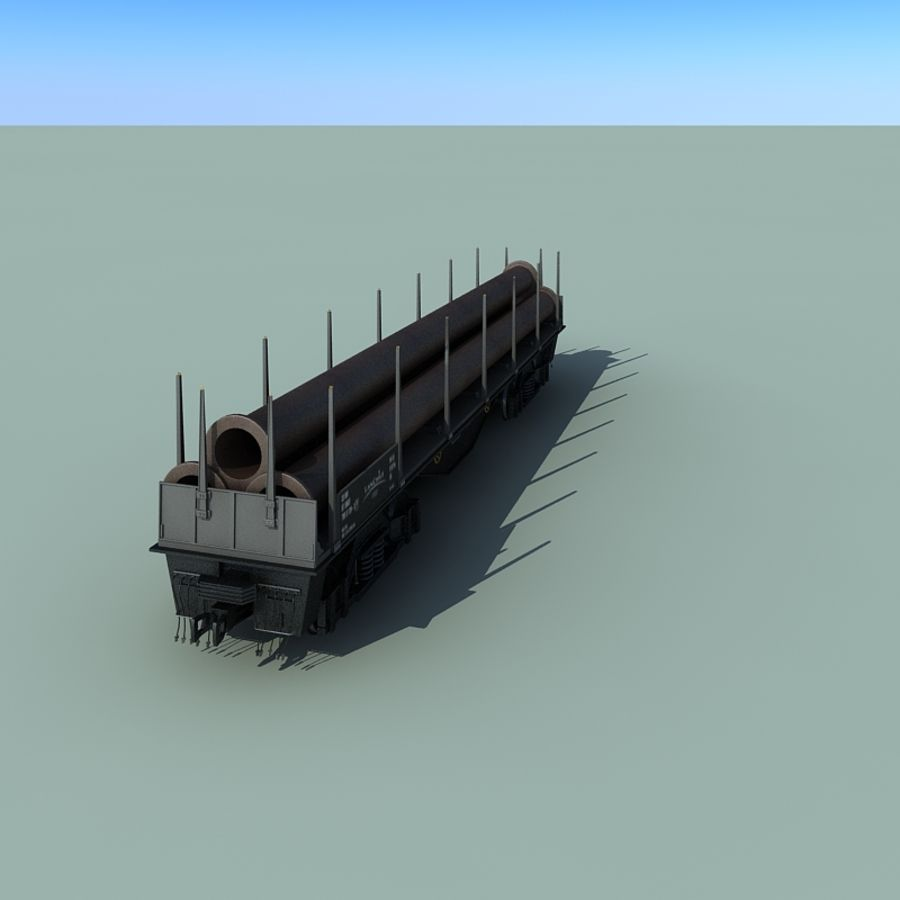 Wagon royalty-free 3d model - Preview no. 25