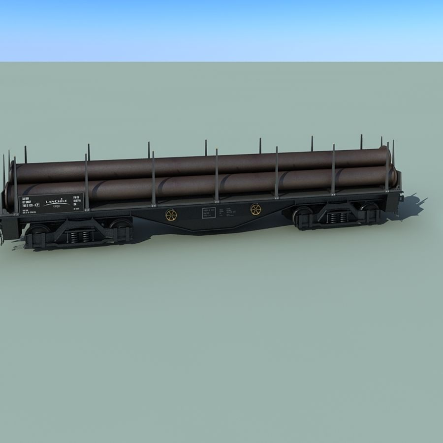 Wagon royalty-free 3d model - Preview no. 22