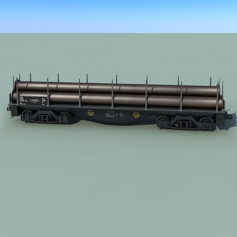 Wagon royalty-free 3d model - Preview no. 12