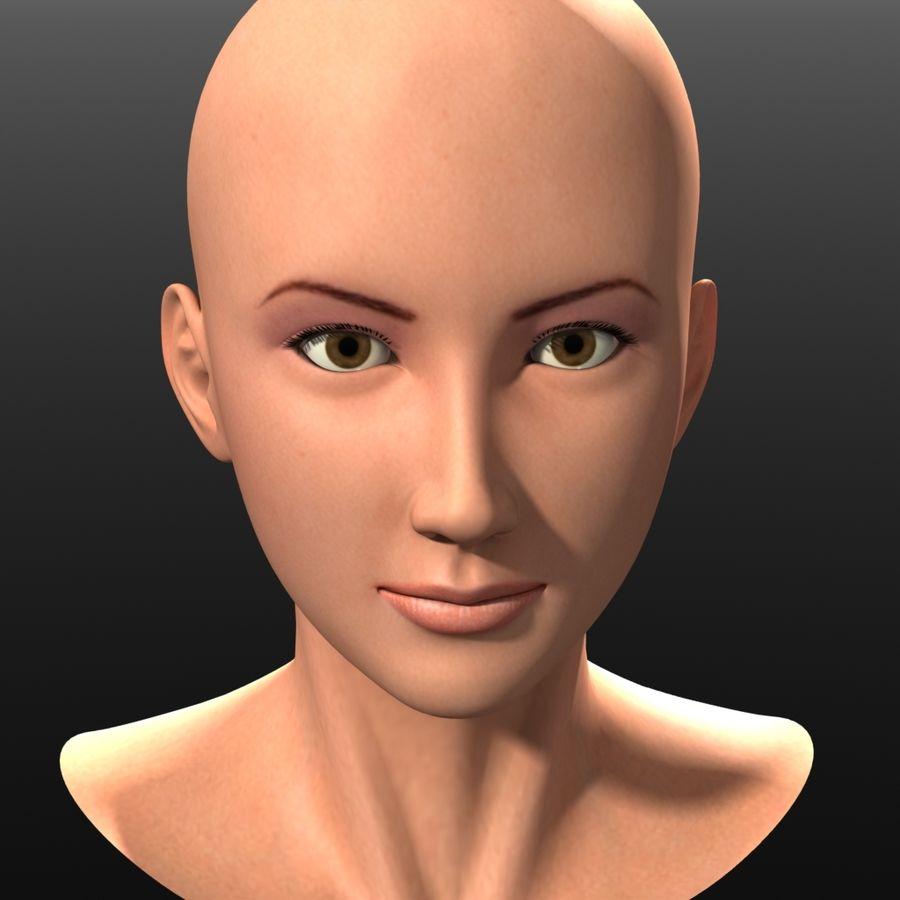 3D Asian Girl asian girl 3d model $59 - .lwo .obj .fbx - free3d