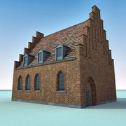 유럽 건물 036 덴마크 3d model
