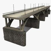 Ponte Lungo 3d model