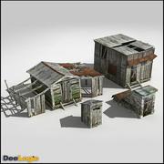 Celeiros da Sibéria 3d model