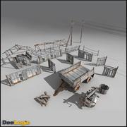 Village Content 3d model