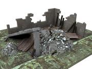House ruin 2 3d model
