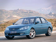 Honda Civic VII IMA Limousine 3d model