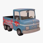 旧卡车 3d model