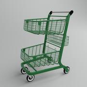 ショッピングカート 3d model