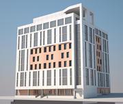 Bürogebäude 3d model