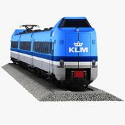 NS ICM Класс 4000 KLM 3d model