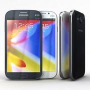 Samsung Galaxy Grand I9082 Preto e Branco 3d model