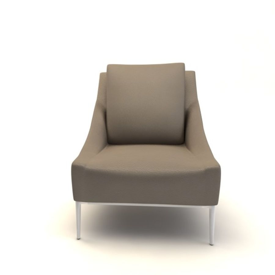 sillones (1) (1) royalty-free modelo 3d - Preview no. 7