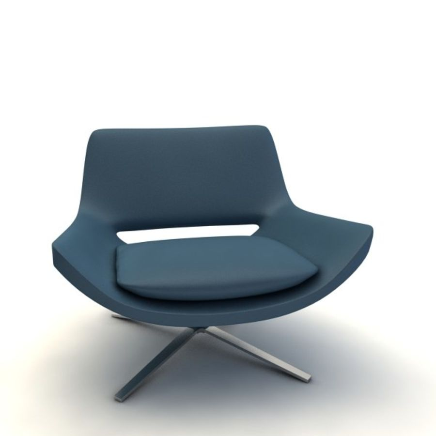 sillones (1) (1) royalty-free modelo 3d - Preview no. 1