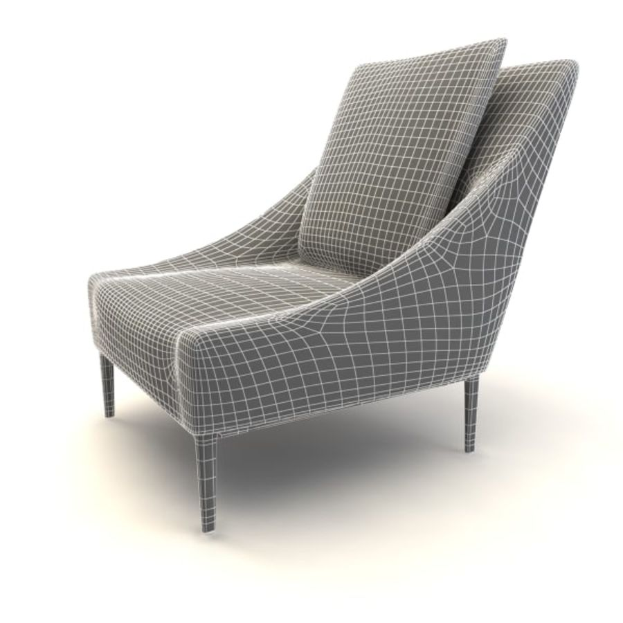 sillones (1) (1) royalty-free modelo 3d - Preview no. 3