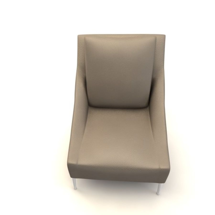 sillones (1) (1) royalty-free modelo 3d - Preview no. 8
