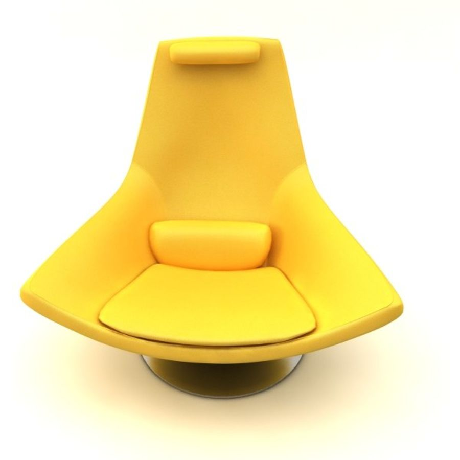 sillones (1) royalty-free modelo 3d - Preview no. 5