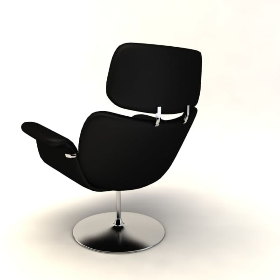 sillones (1) royalty-free modelo 3d - Preview no. 6