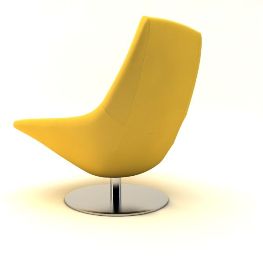 sillones (1) royalty-free modelo 3d - Preview no. 9