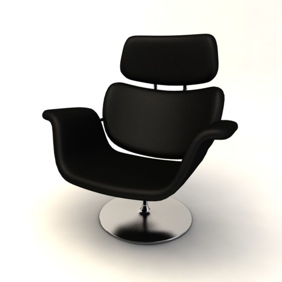 sillones (1) royalty-free modelo 3d - Preview no. 8