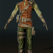 LowPoly Hunter 3d model