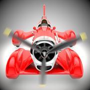 螺旋桨车 3d model
