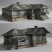 Russian House Pack 03 3d model