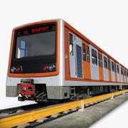 Metro - Metro Treni 1 3d model