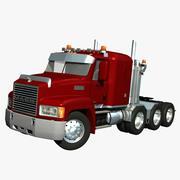 Mack CH Heavy Haul 3d model