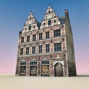 유럽 건물 031 코펜하겐 3d model