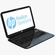 HP Pavilion Sleekbook 3d model