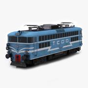 TCDD E 40015 Elektrisk lokomotiv 3d model