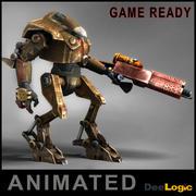 Kampfroboter animiert 3d model