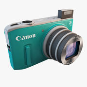 Canon PowerShot SX260 HS 3d model